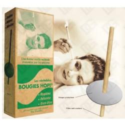 Bougies Hopi (la paire + support)