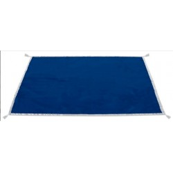 "Tapis ""Deluxe"" velours bords satin 120X80cms"