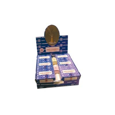 Encens Nag Champa 12 Dhoop Cones - Satya