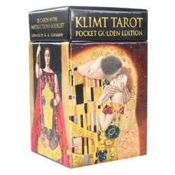 Mini Tarot de Klimt - Pocket Golden Edition