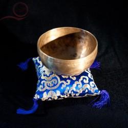 Coussin de bol - bleu