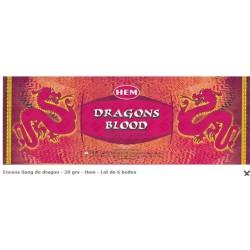 Encens Sang de Dragon 20 bâtonnets