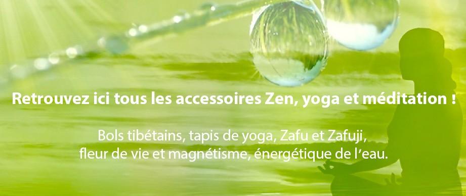 Accessoires zen méditations